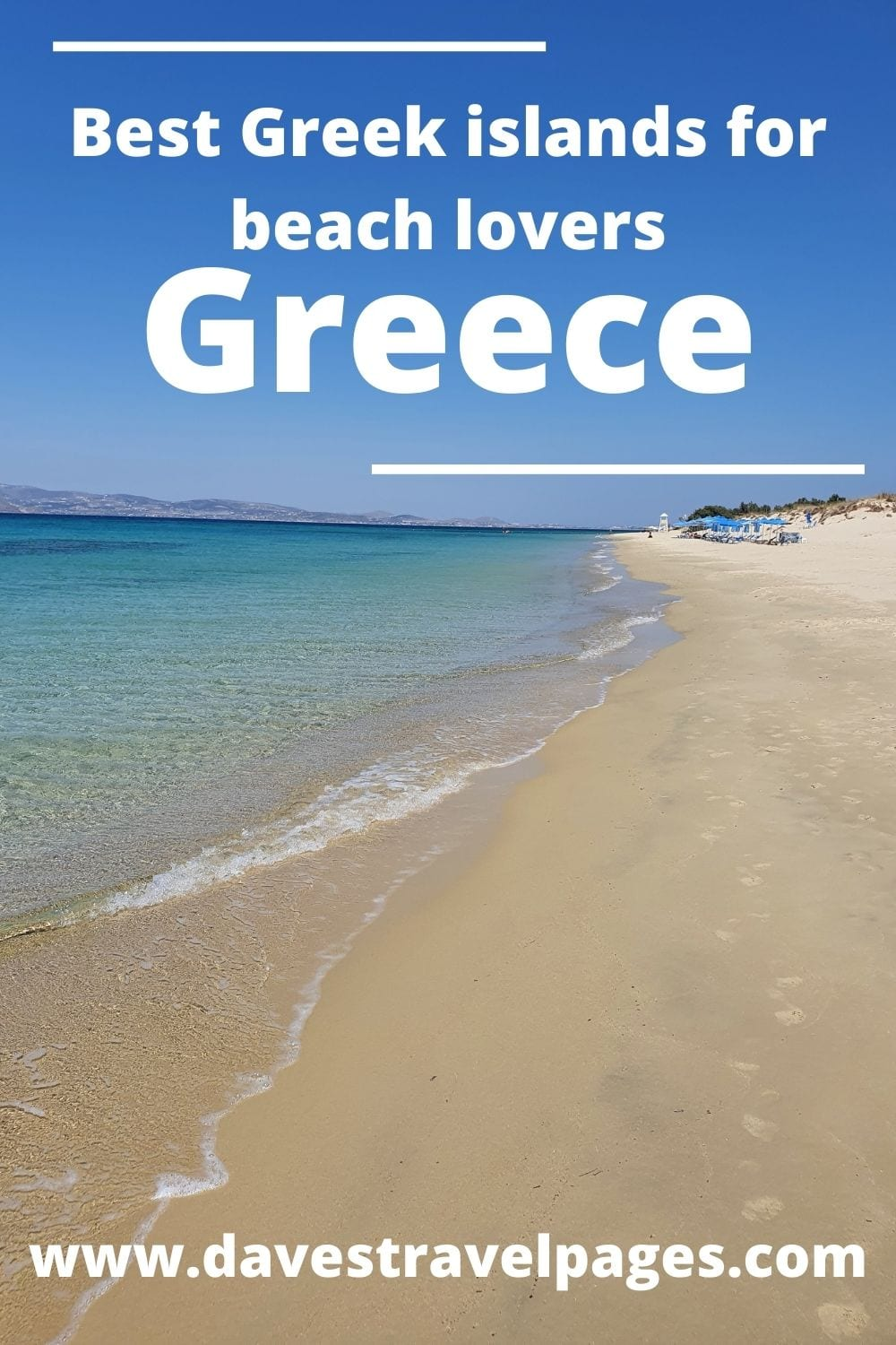 A guide to the best Greek islands for beaches