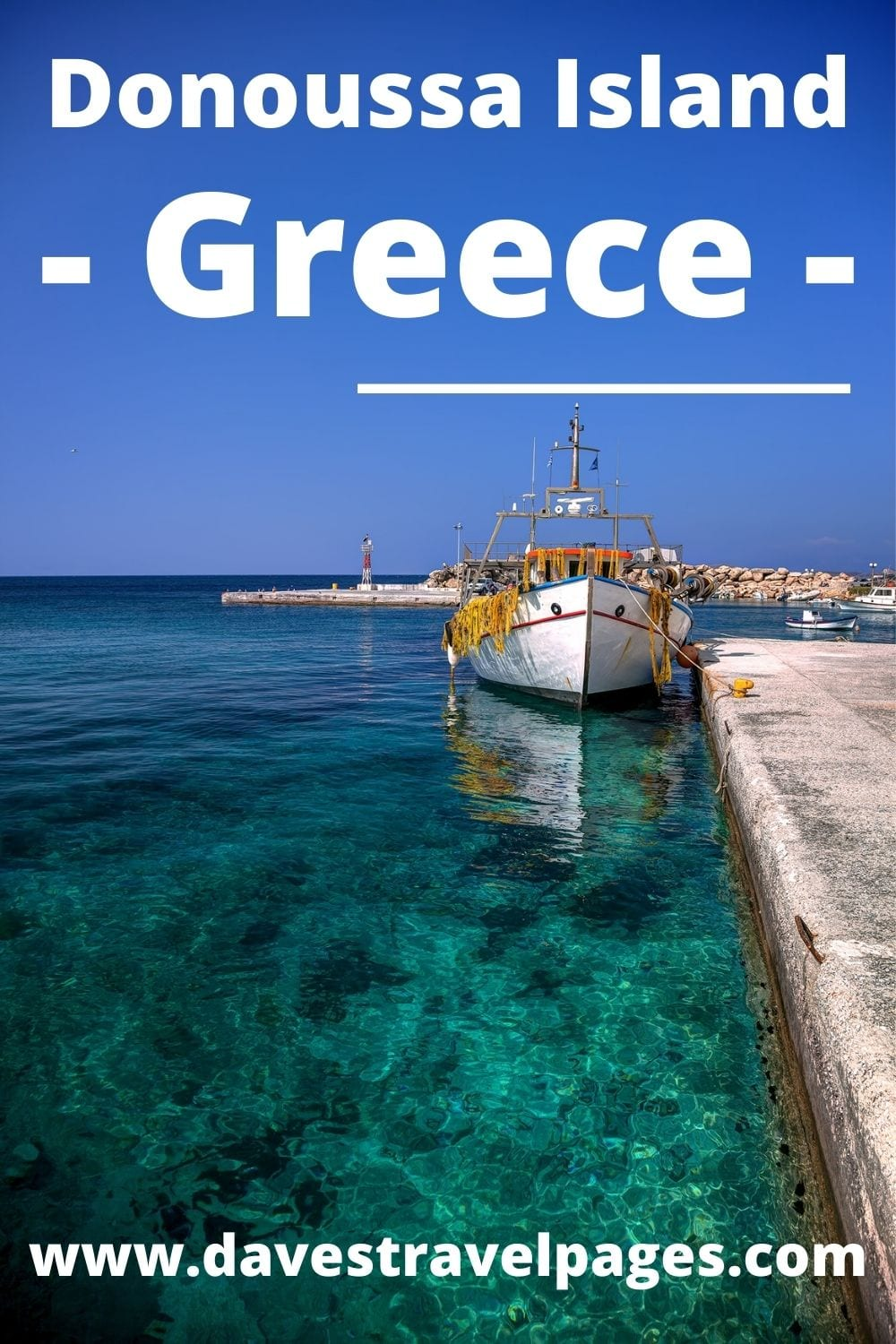 How to travel from Athens to Donoussa Island in Greece