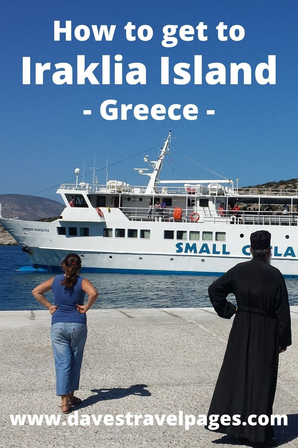 Traveling from Athens to Iraklia island in Greece