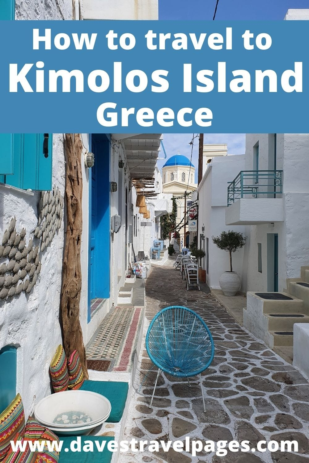 How to travel to Kimolos island from Athens in Greece