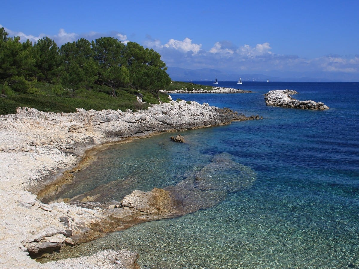 One of the Paxi beaches greece