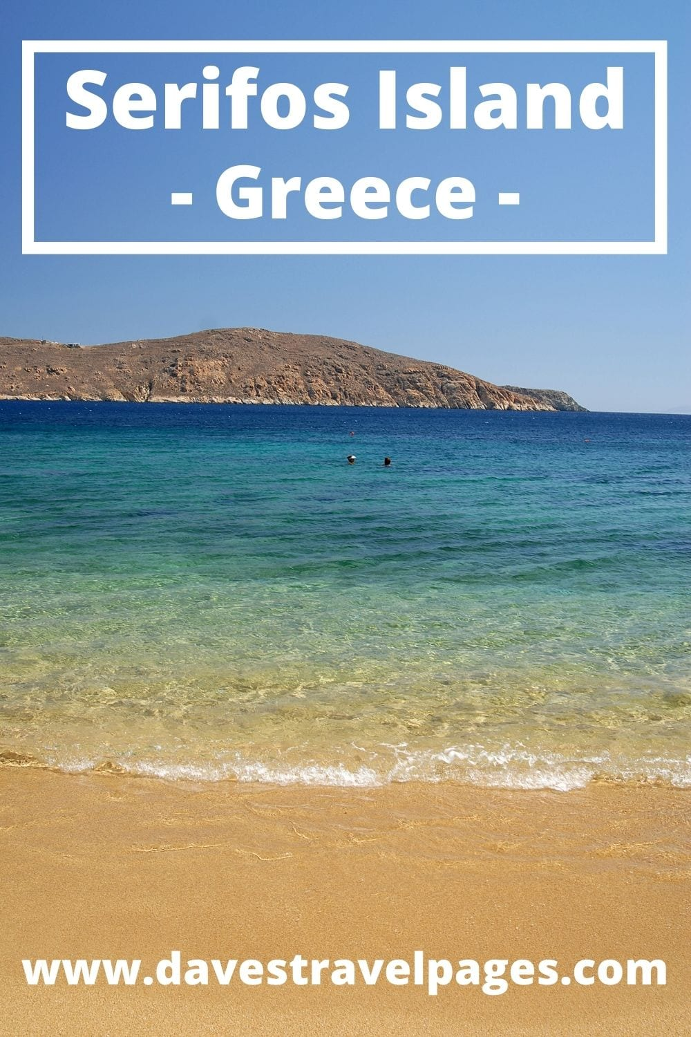 How to get from Athens to Serifos island in Greece