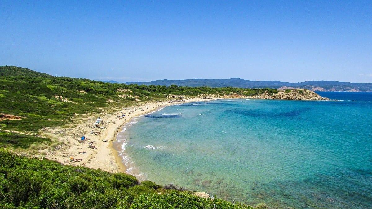 Skiathos in greece nice beaches