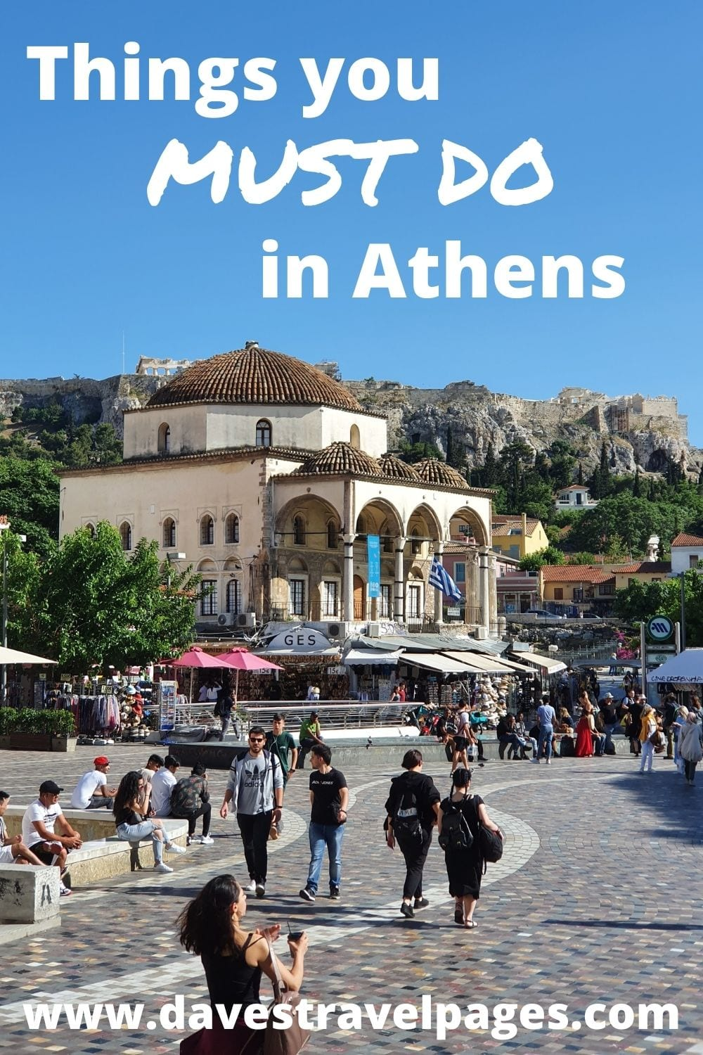 Things you must do in Athens Greece