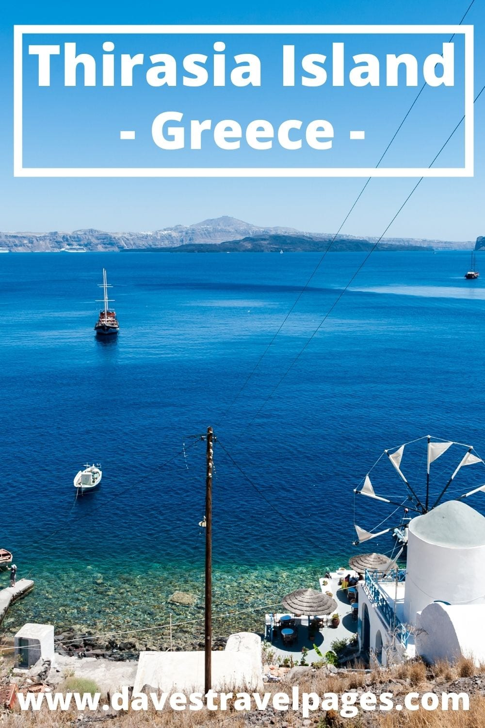 How to get to Thirasia island in Greece from Athens