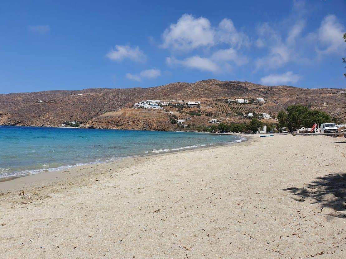 Aegiali Bezch in Amorgos island Greece