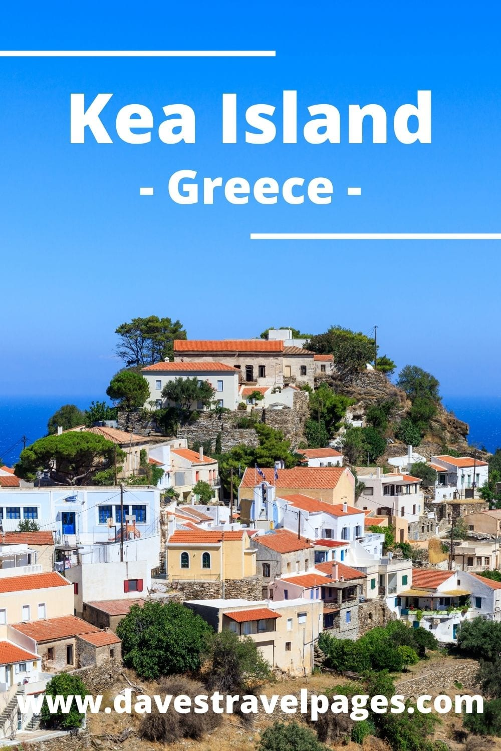 How to travel from Athens to Kea island in Greece