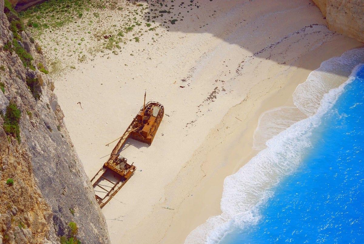 The famous Zakynthos greece best beaches