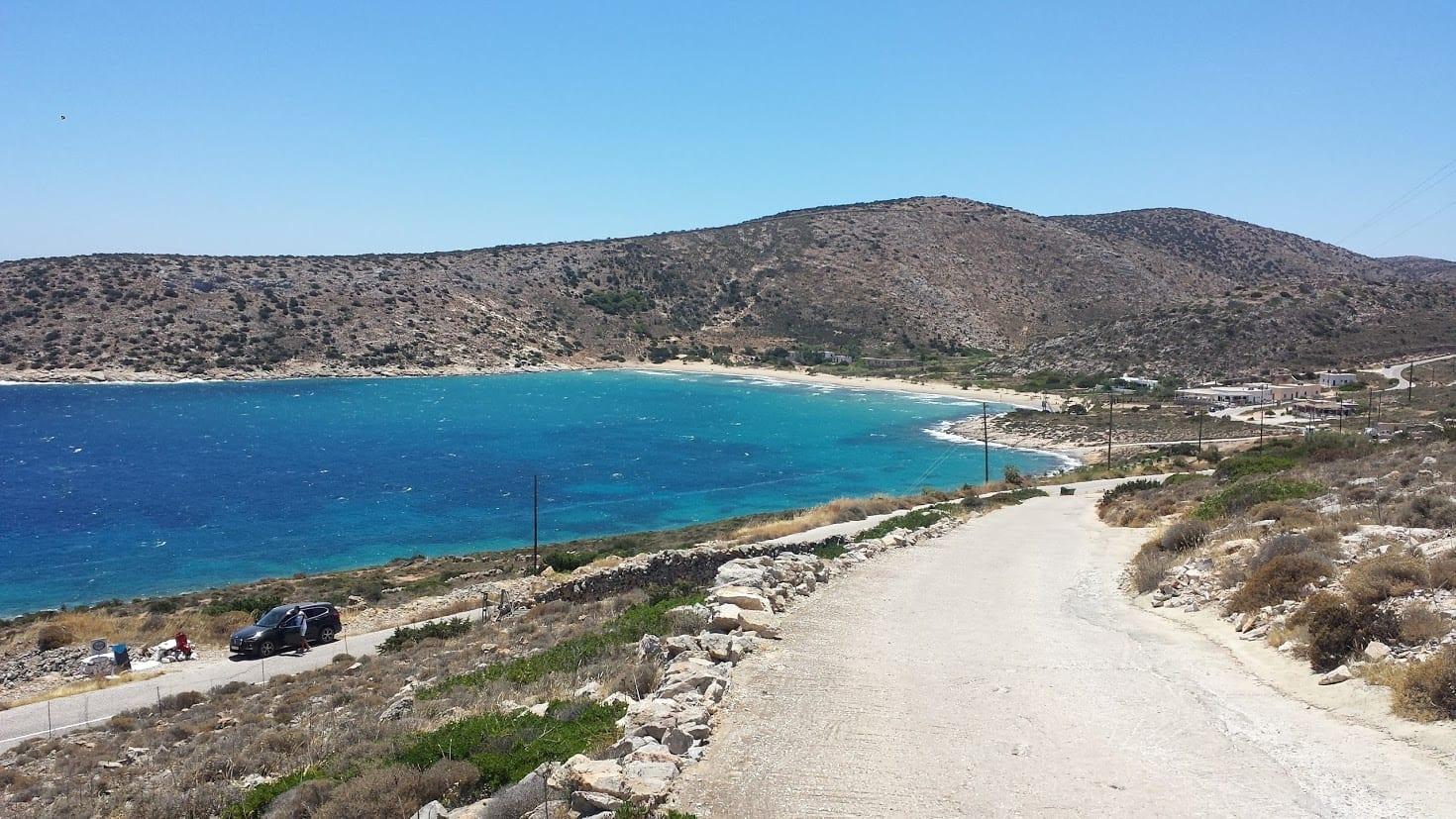 Exploring Iraklia island in Greece
