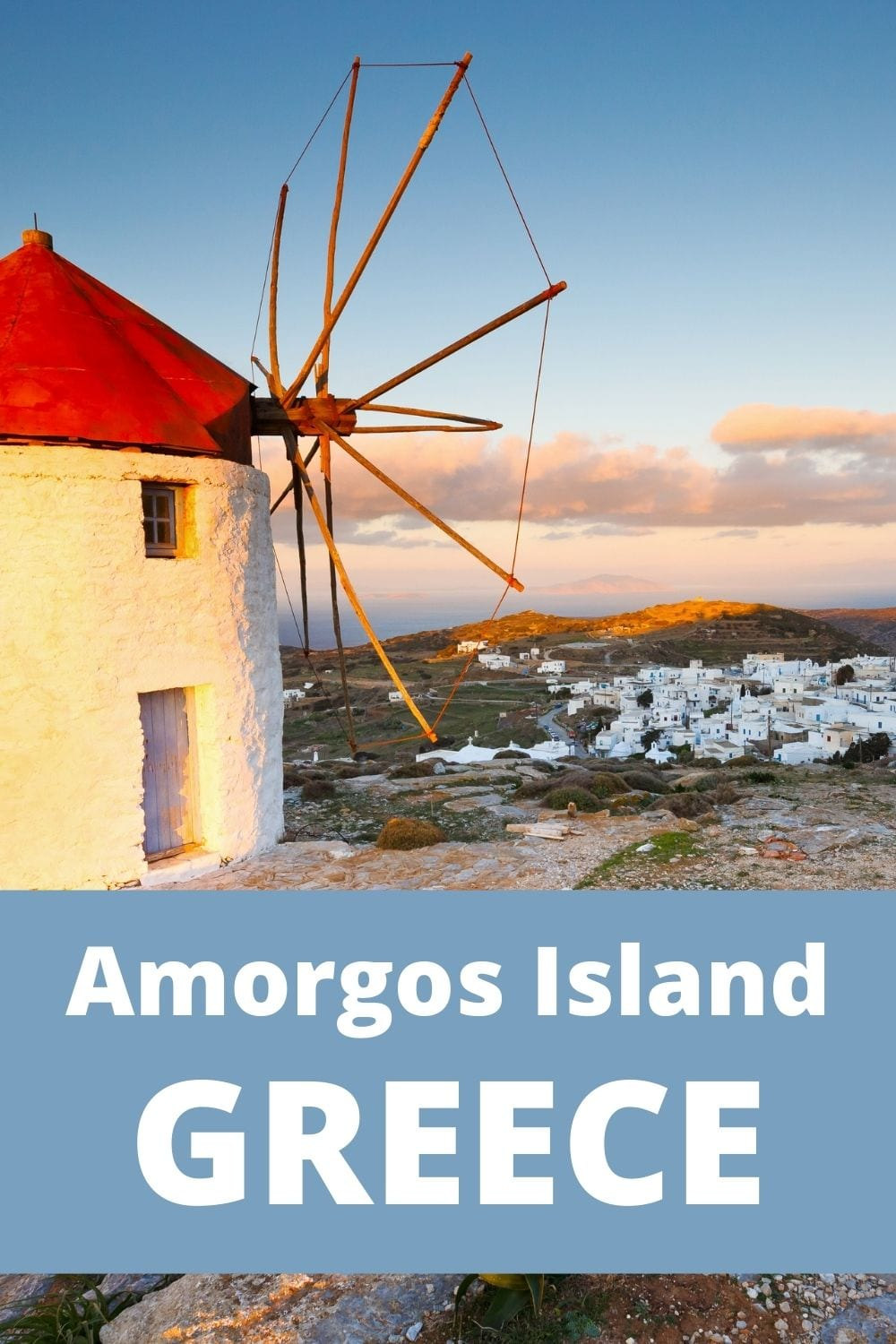 How to get from Athens to Amorgos island in Greece