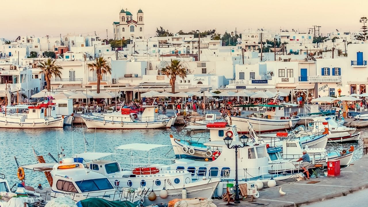 How to travel to Paros from Athens in Greece