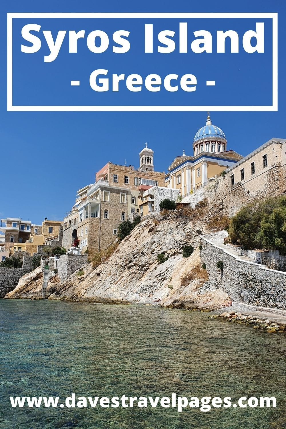 How to take the ferry from Athens to Syros