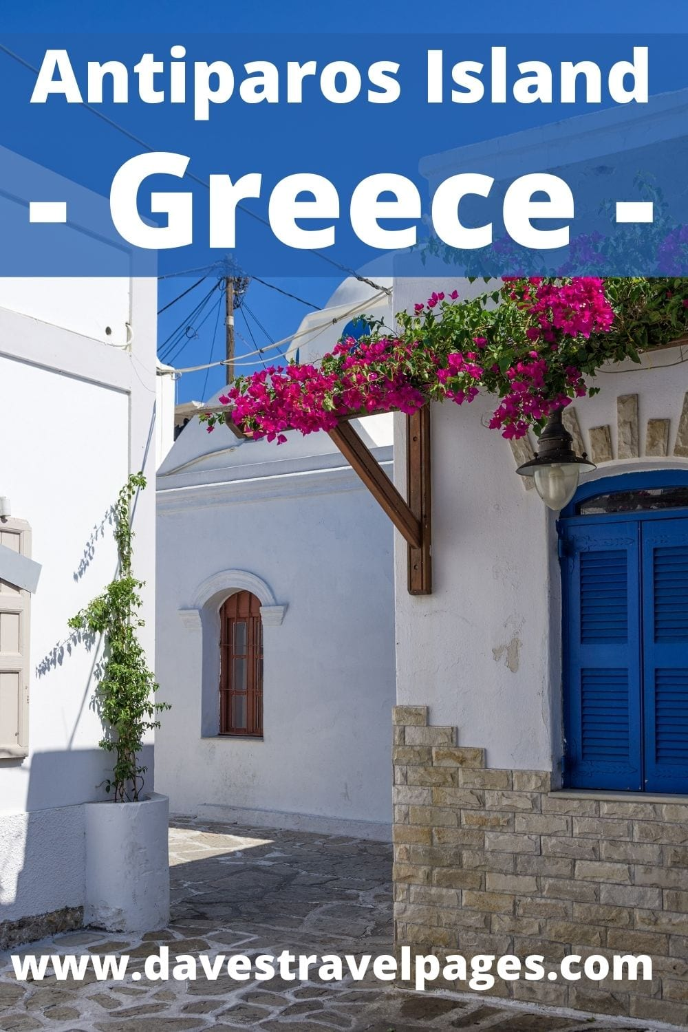 How to get from Athens to Antiparos island in Greece