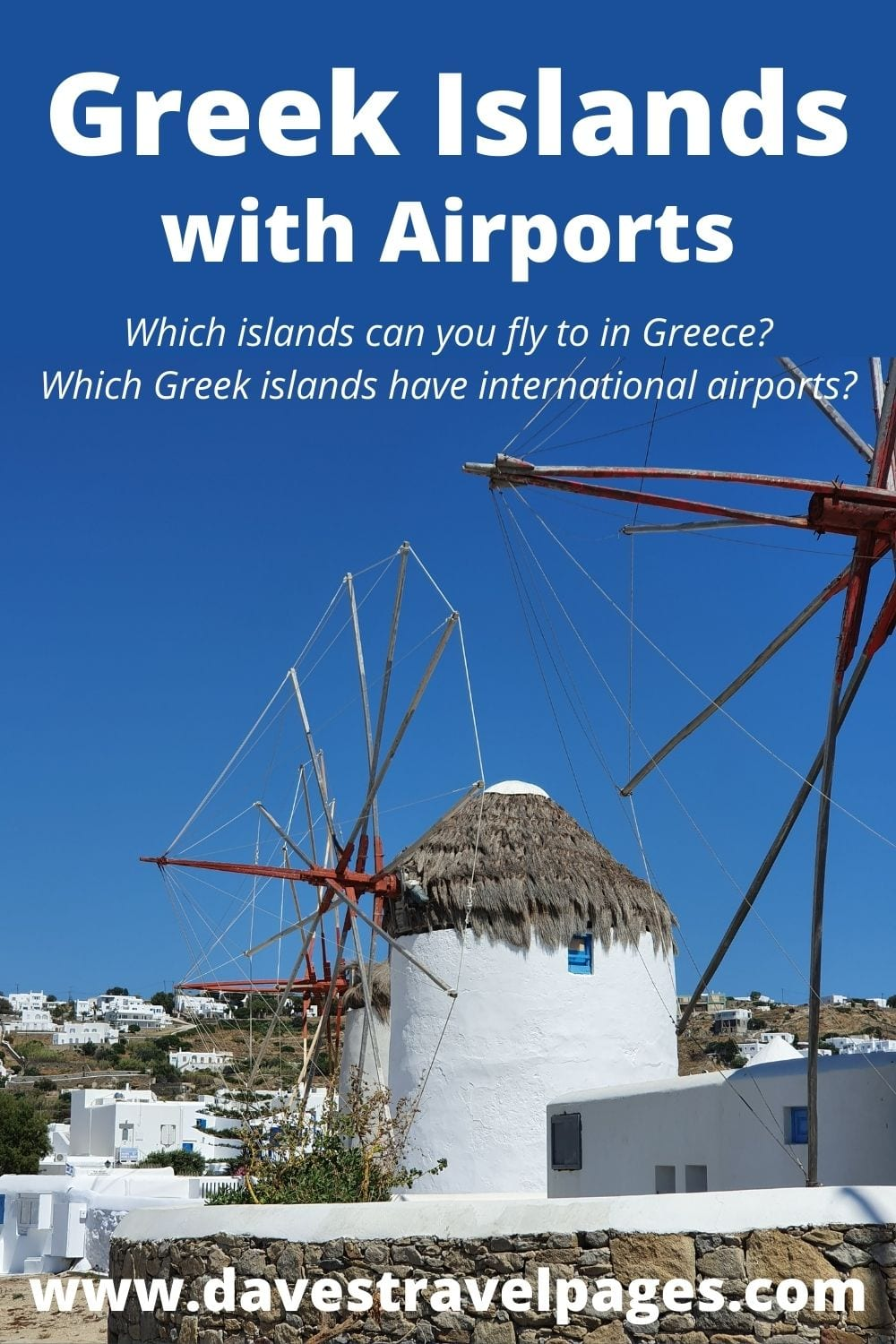 A complete list of Greek islands with airports