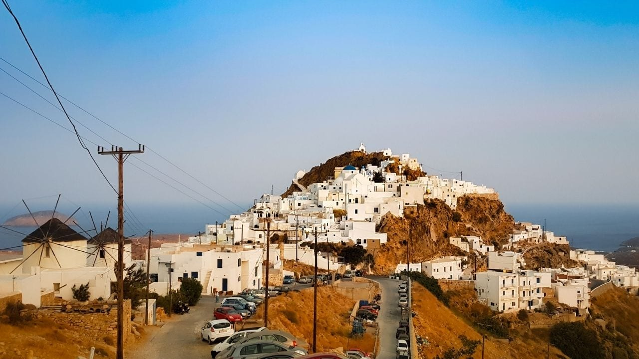 How to travel to Serifos island in Greece from Athens
