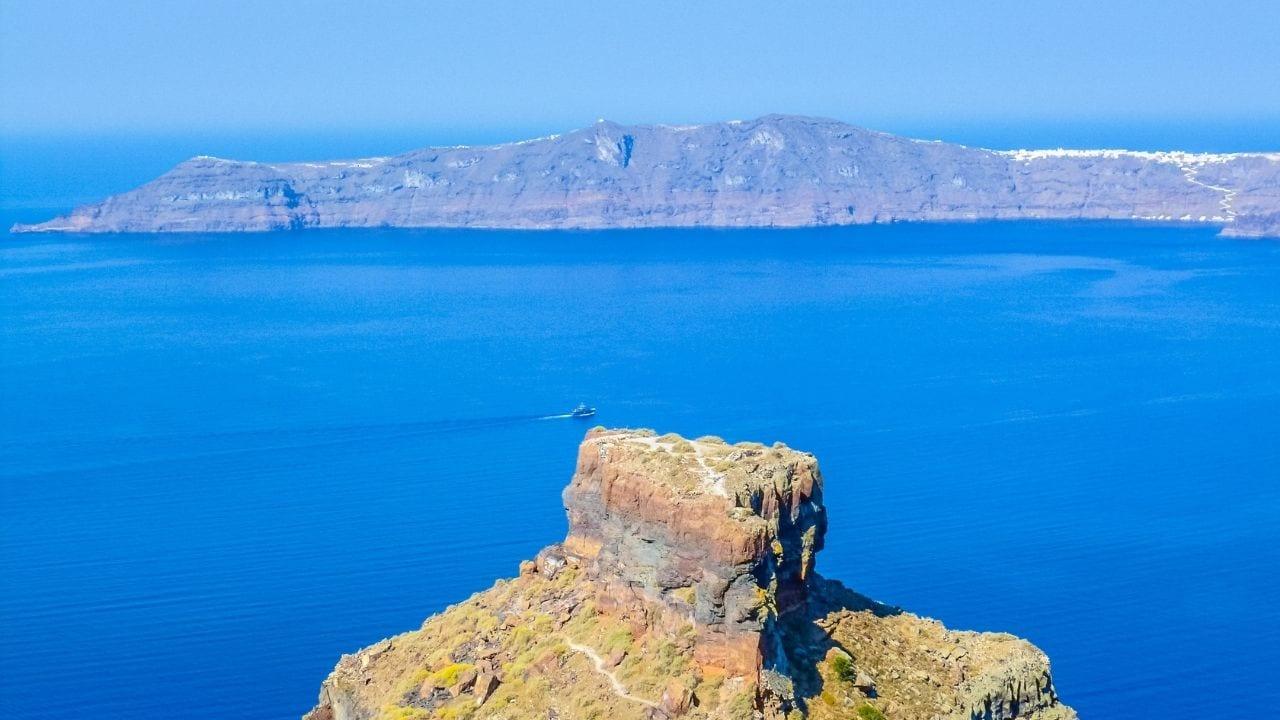 Thirasia Island near Santorini