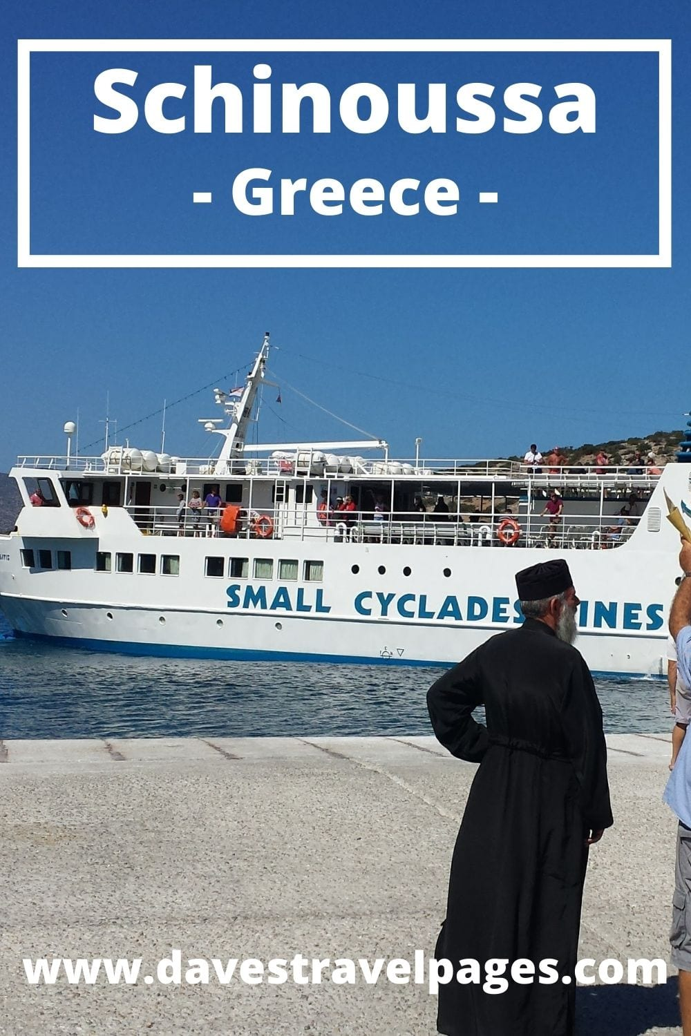 How to travel to Schinoussa island in Greece