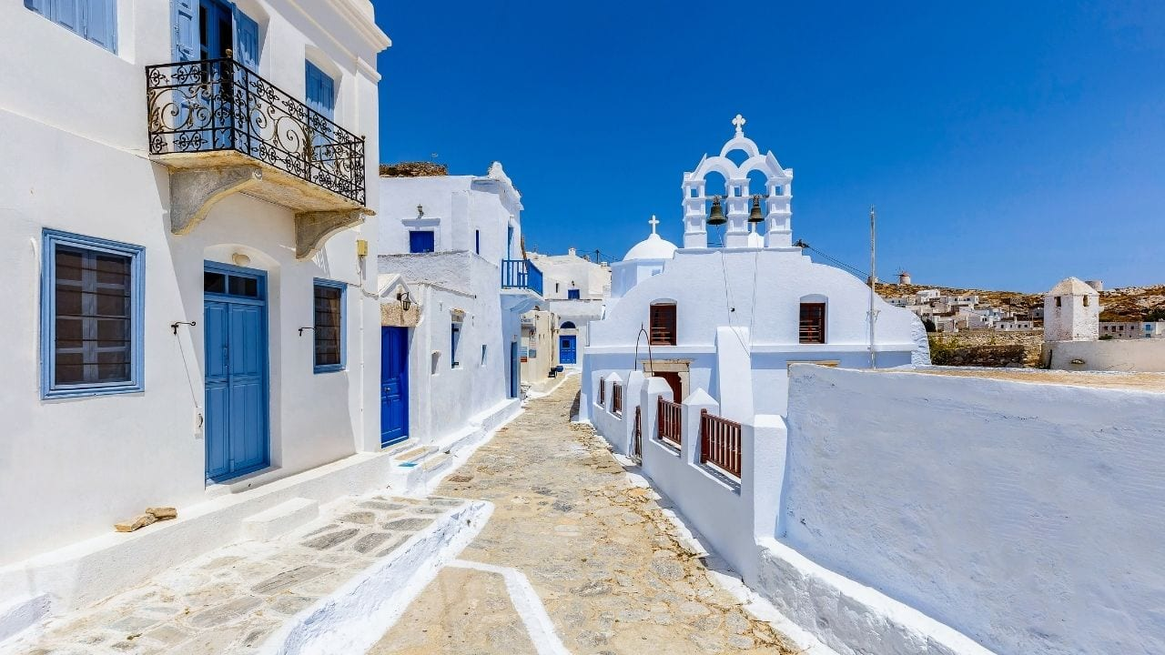 How to get to Amorgos island from Athens in Greece