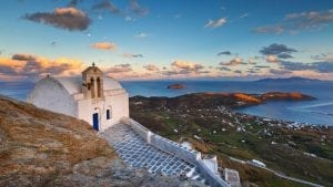 Serifos is a great island to visit from Athens with incredible views and beaches