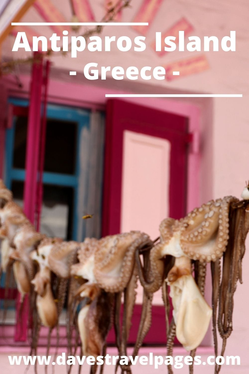 How to get from Mykonos to Antiparos island in Greece