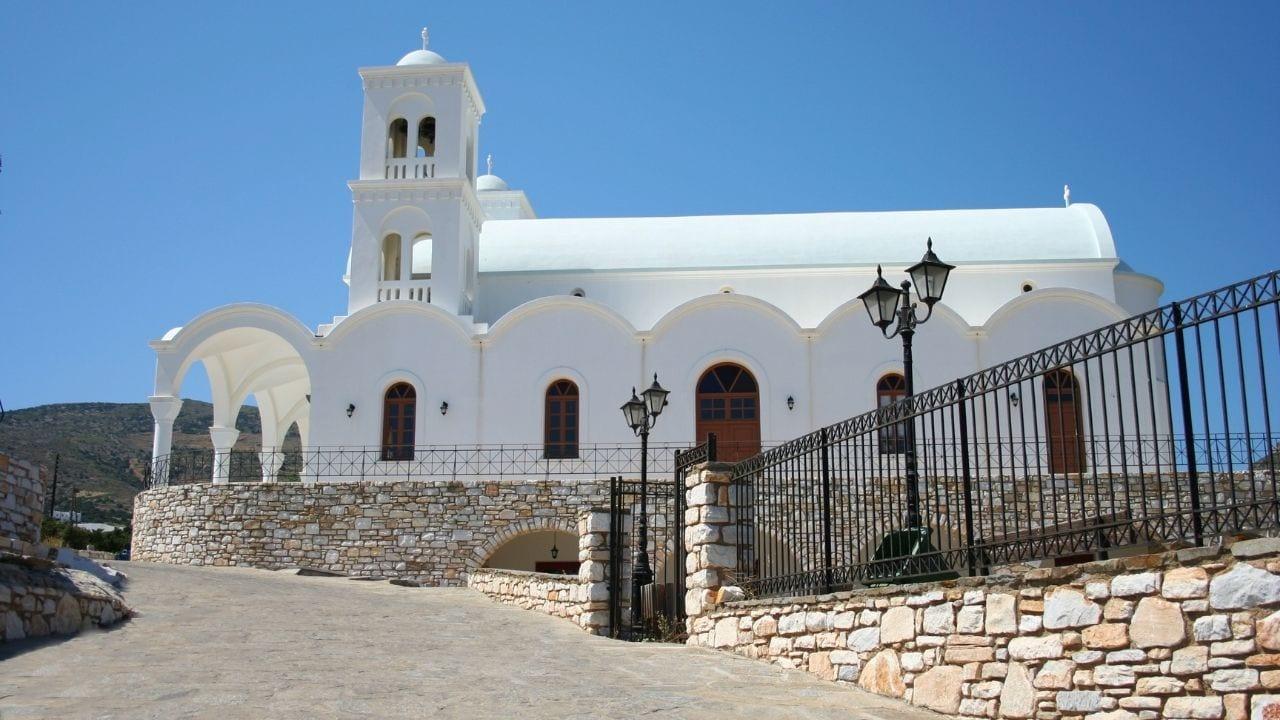 Antiparos island in Greece
