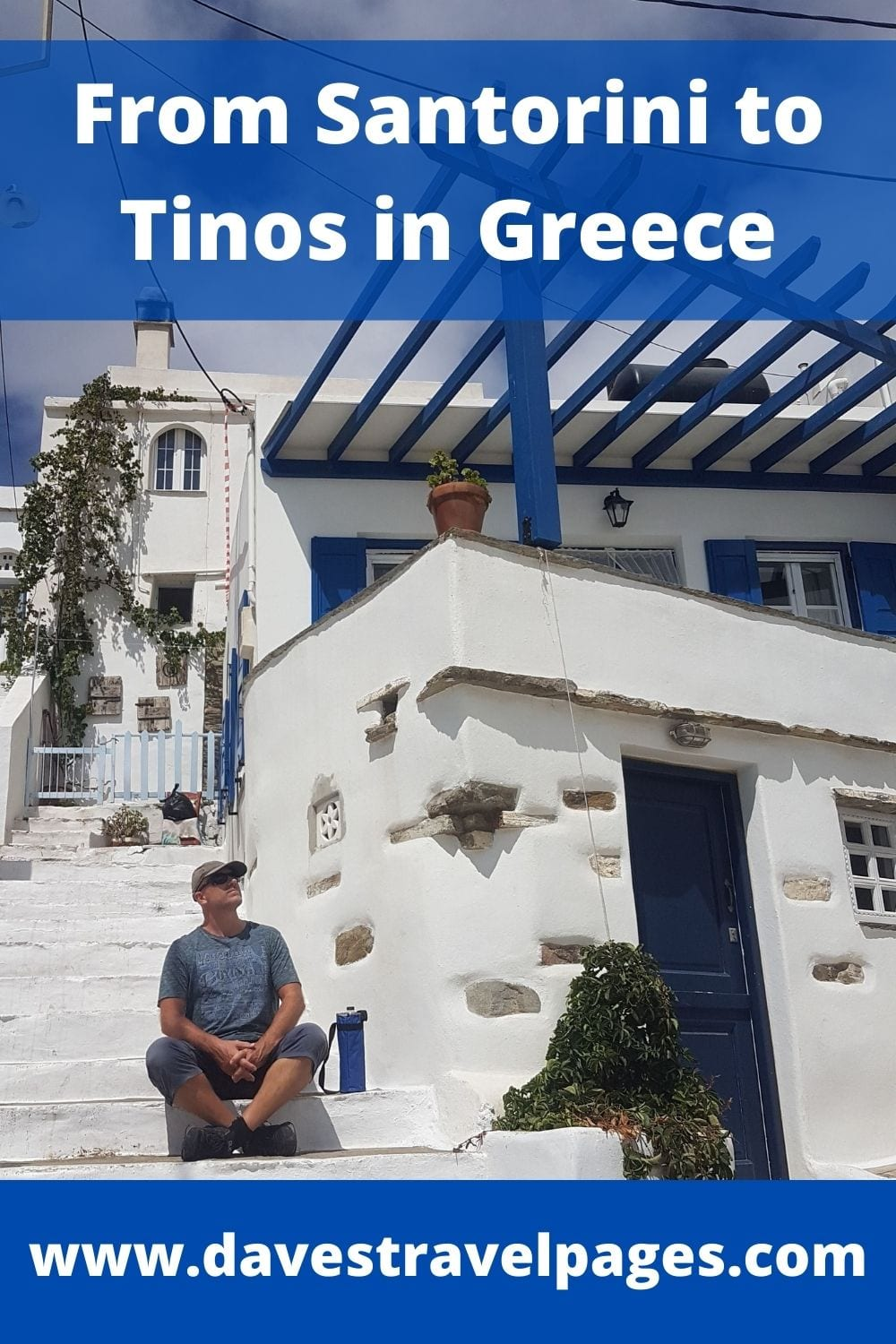 How to travel from Santorini to Tinos in Greece