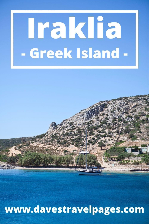 How to travel to Iraklia island from Mykonos