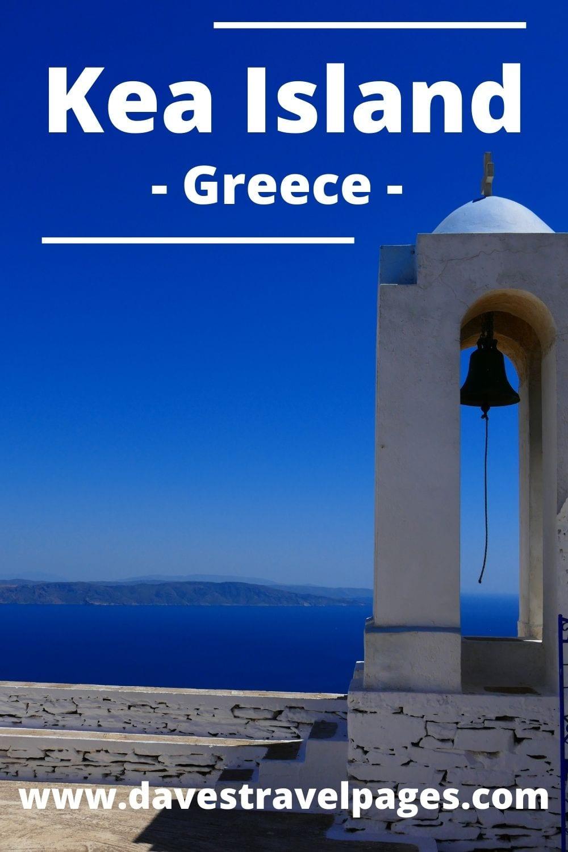 Best way to travel to Kea island from Santorini in Greece