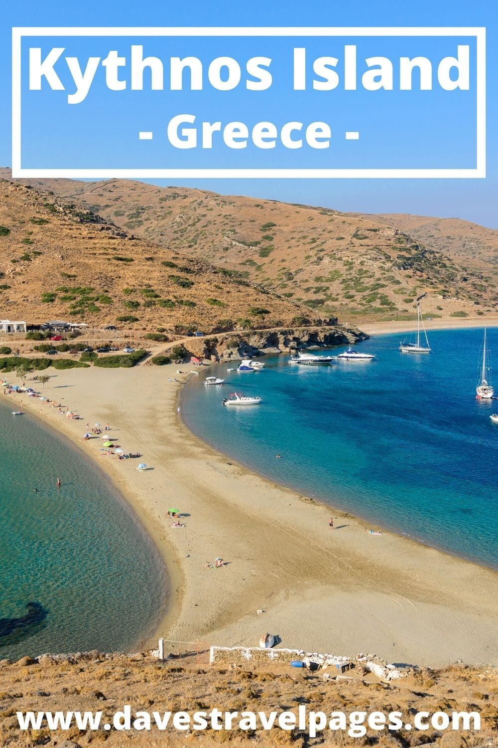 The best way to get to Kythnos island from Santorini in Greece
