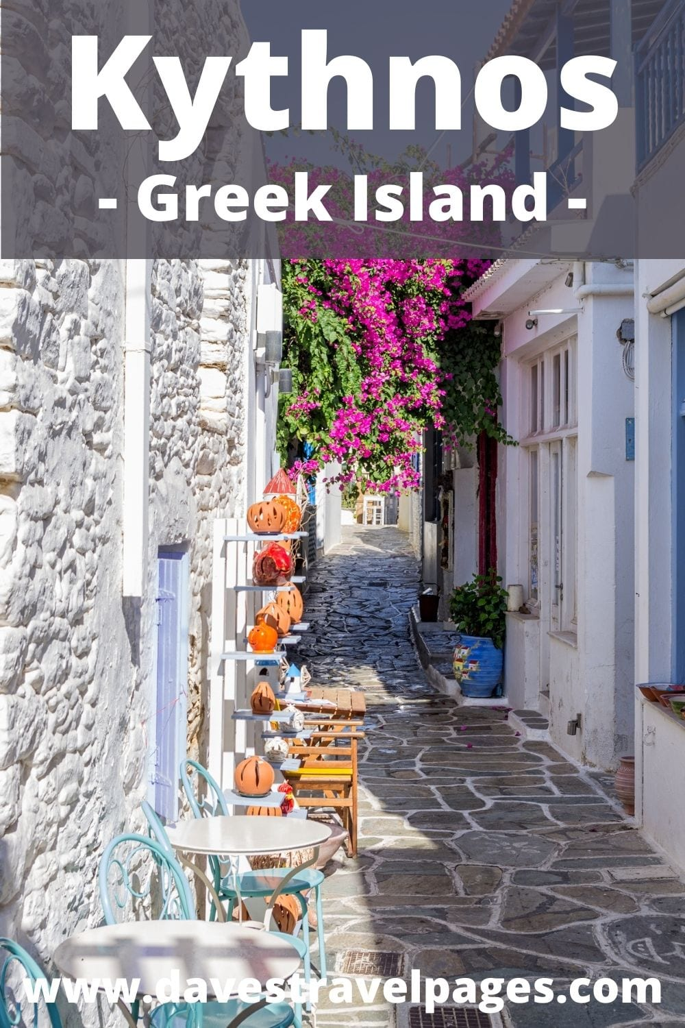 How to get from Mykonos to Kythnos island in Greece