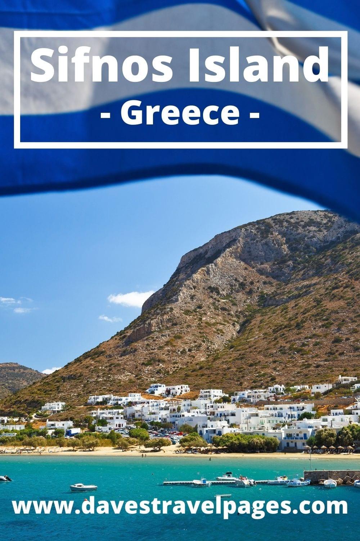 Santorini to Sifnos island ferry guide