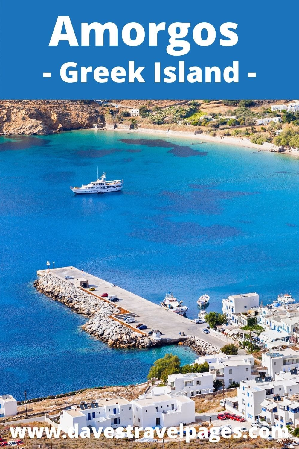 How to get from Mykonos to Amorgos Greek island