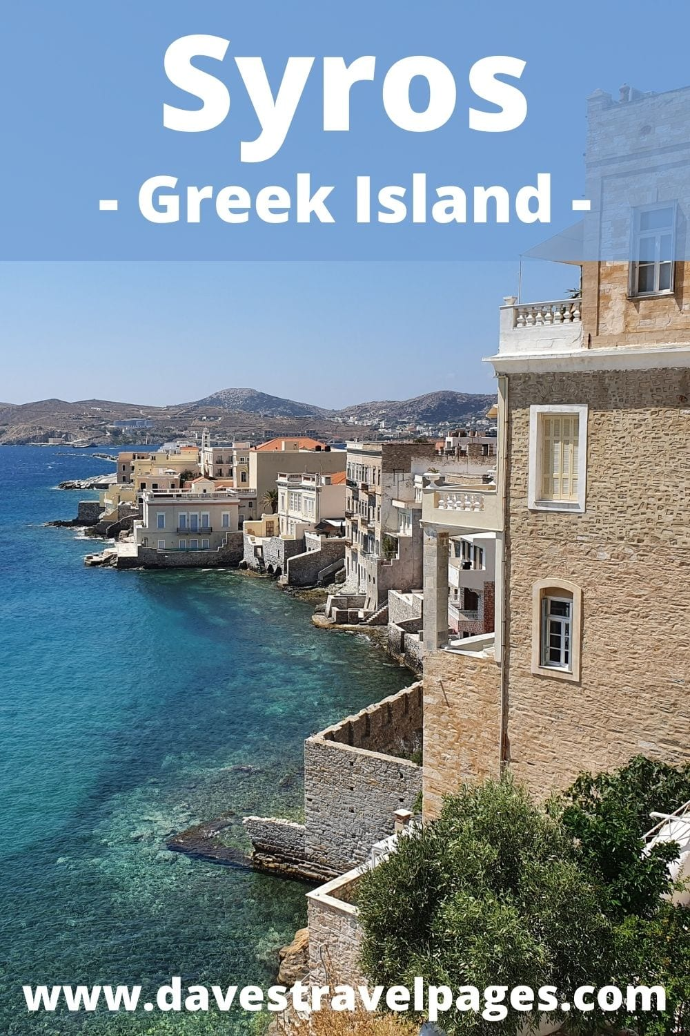 How to travel from Mykonos to Syros by ferry