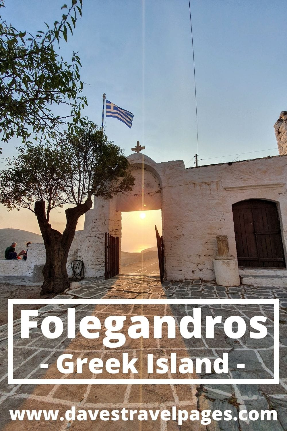 How to get from Mykonos to the Greek island Folegandros