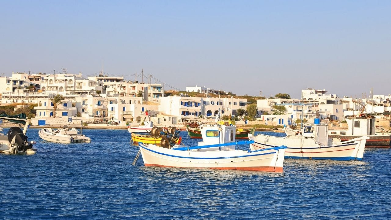 How to get to Koufonisia by ferry