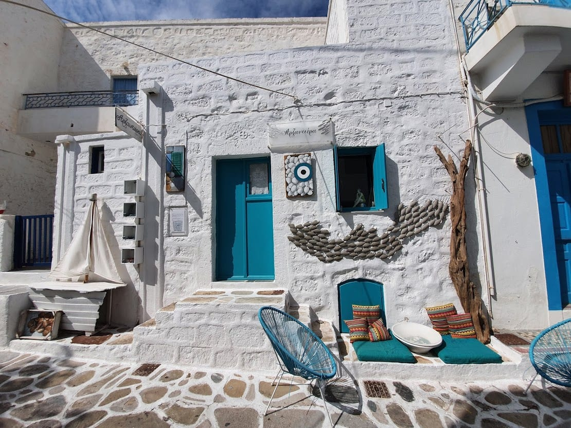 How to get from Santorini to Kimolos by ferry in Greece