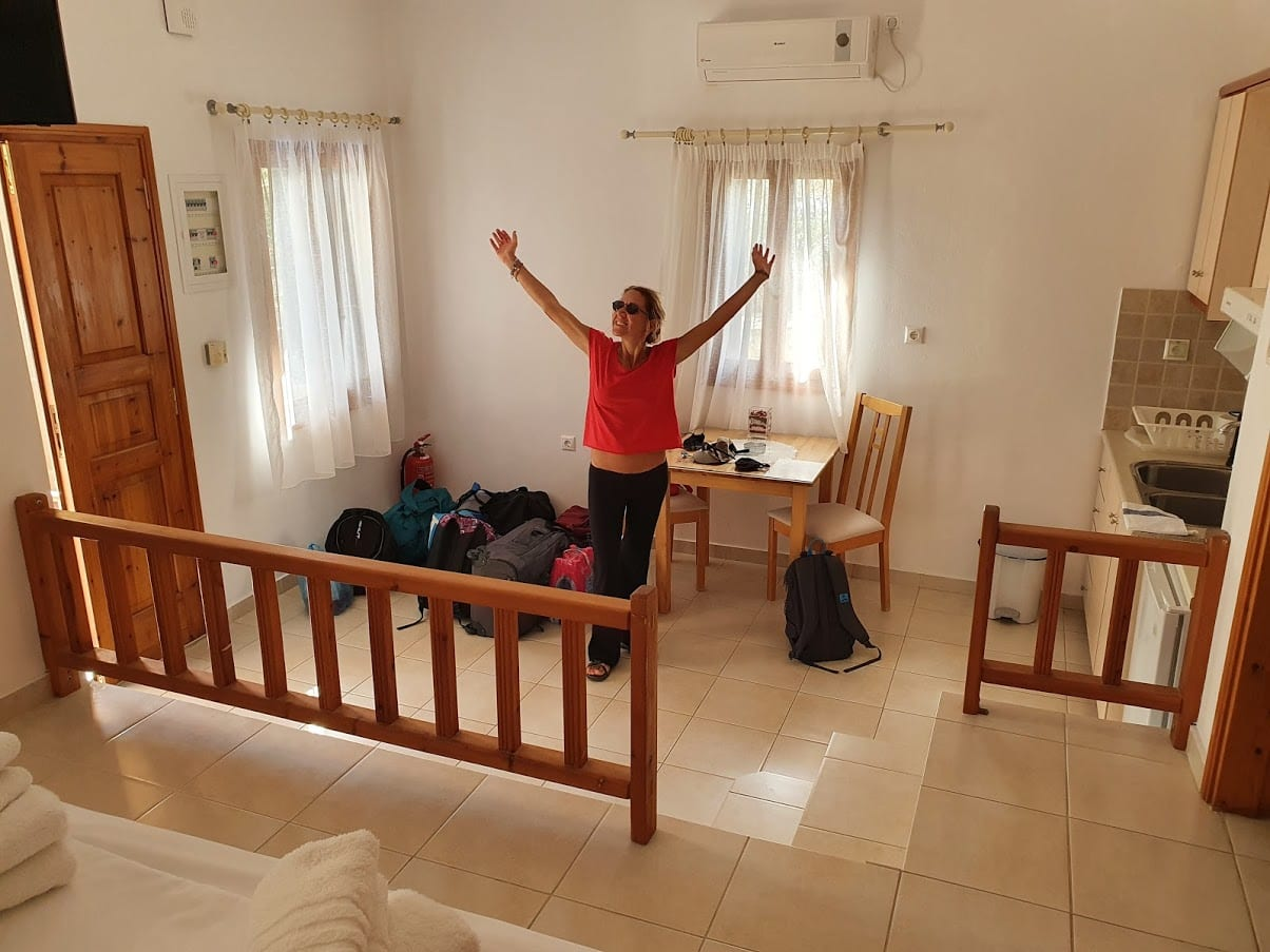 Staying at Coral apartments in Folegandros