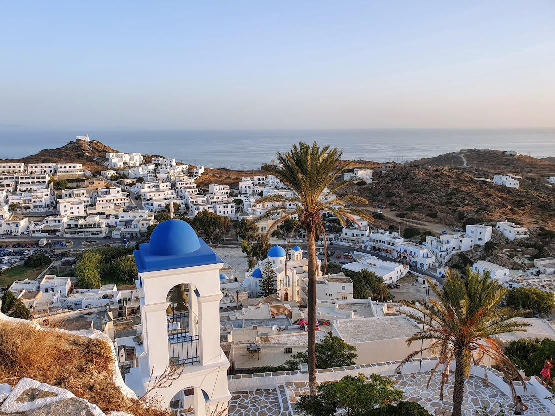 How to get from Mykonos to Ios island by ferry