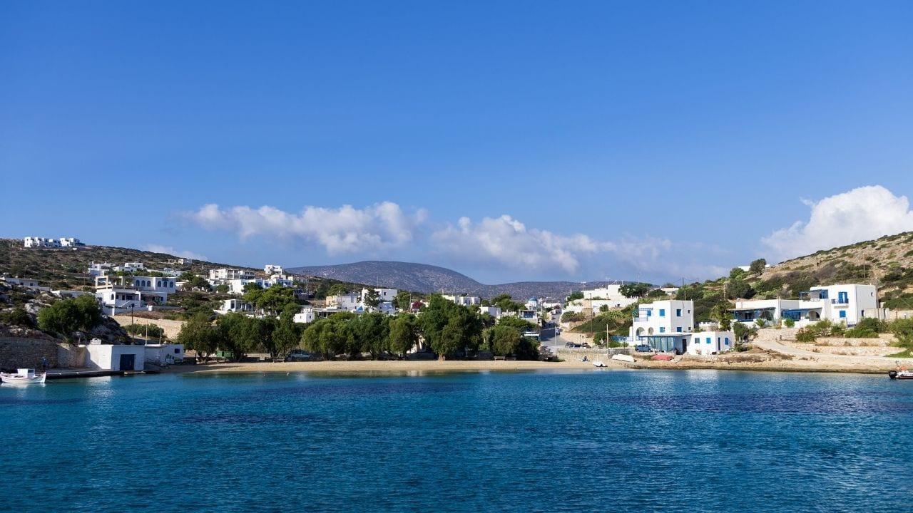 Traveling from Mykonos to Iraklia island in Greece