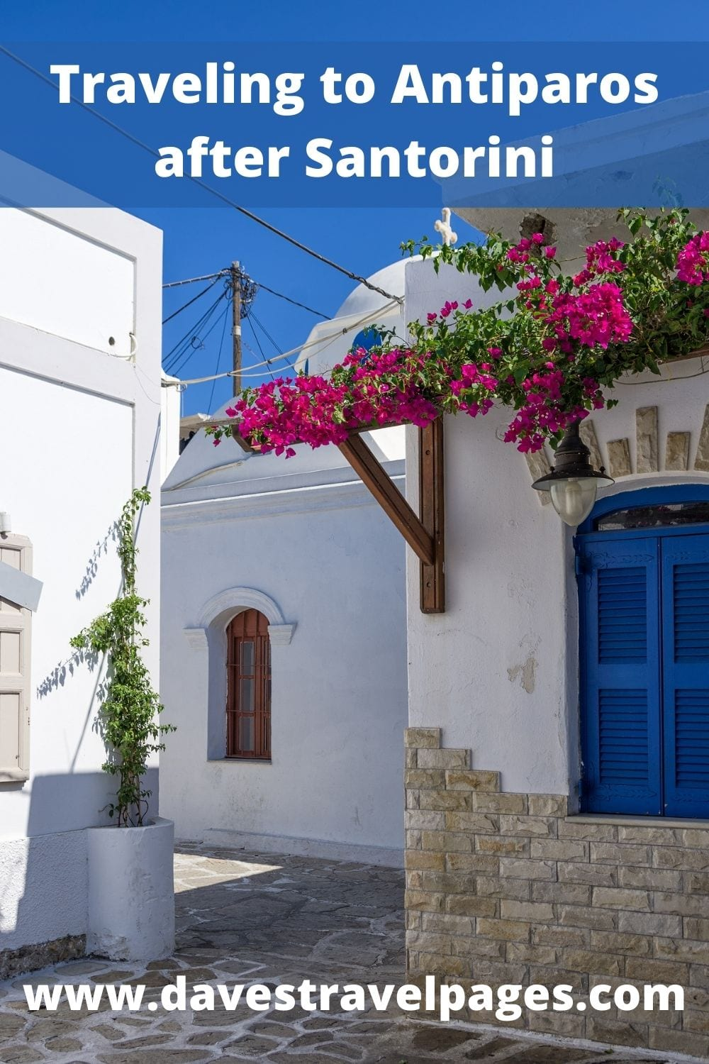 How to travel to Antiparos after Santorini by ferry