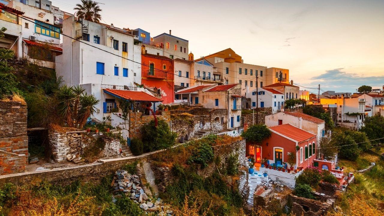 Traveling to Kea island from Mykonos in Greece