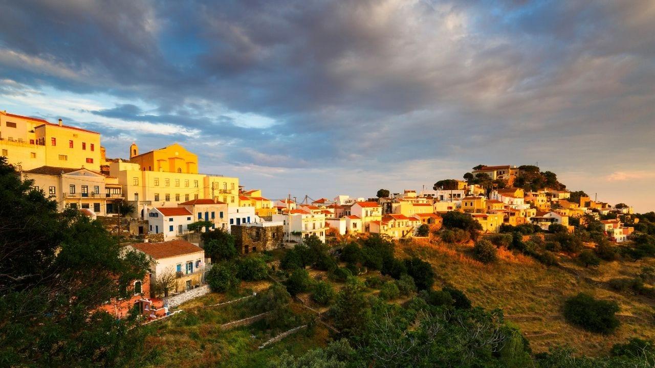 Traveling to kea island from Santorini