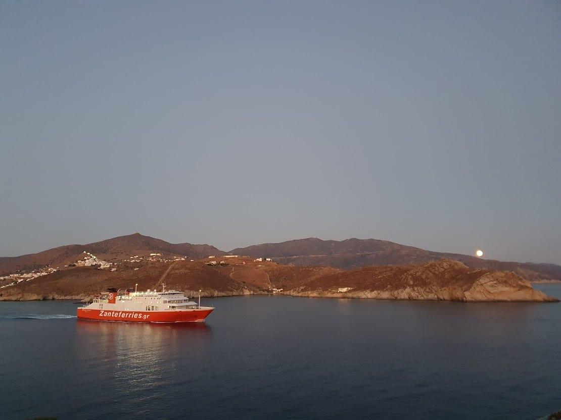 Ferry Santorini Ios