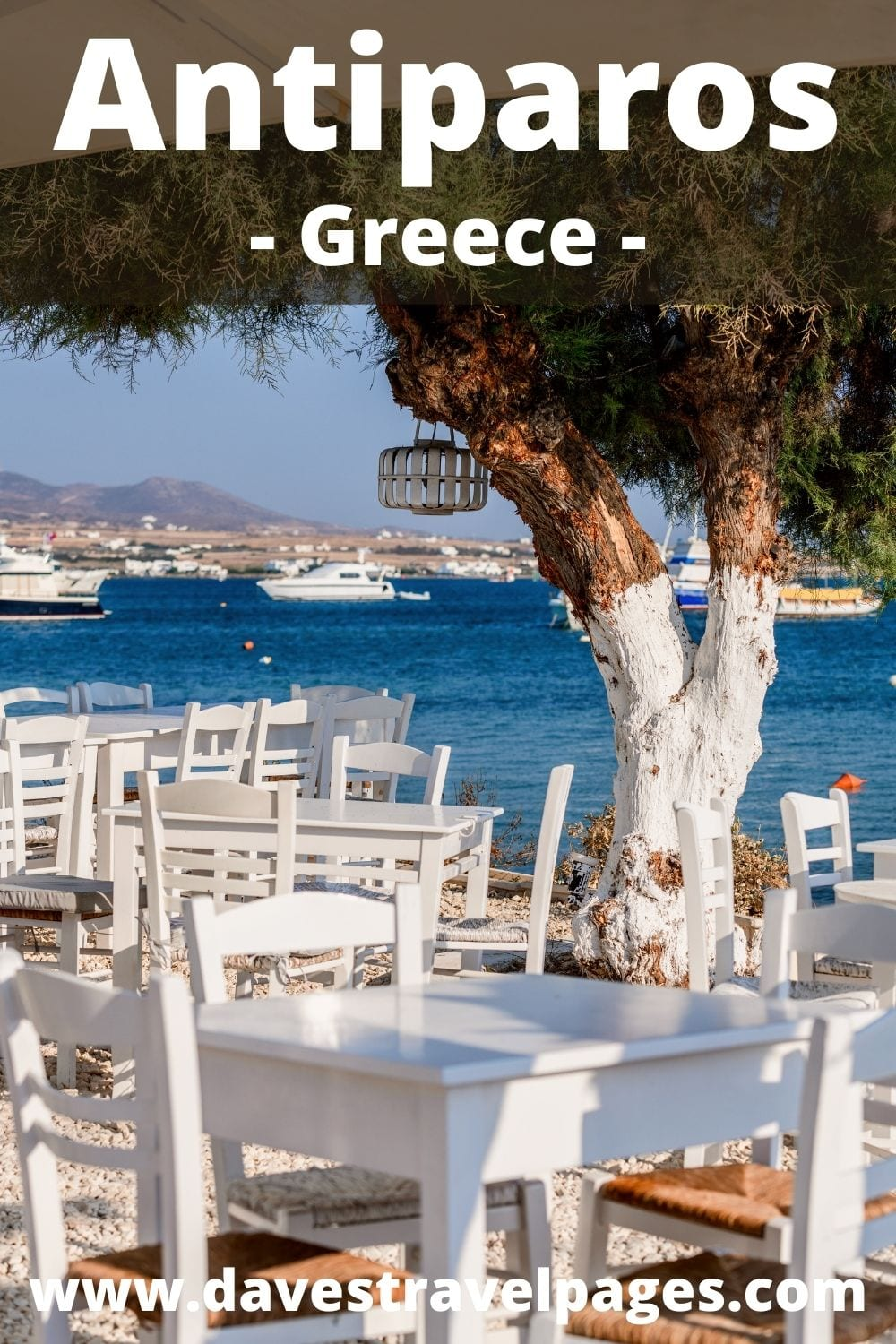 How to go to Antiparos from Milos island in Greece