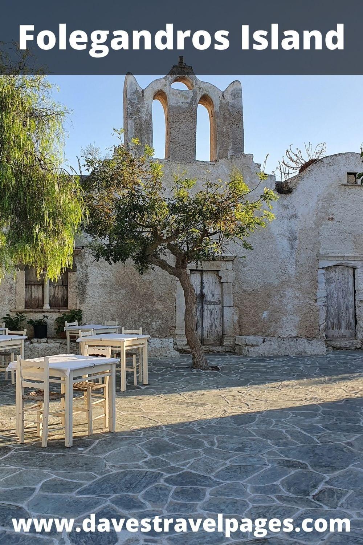Folegandros Greek Island Hopping Guide