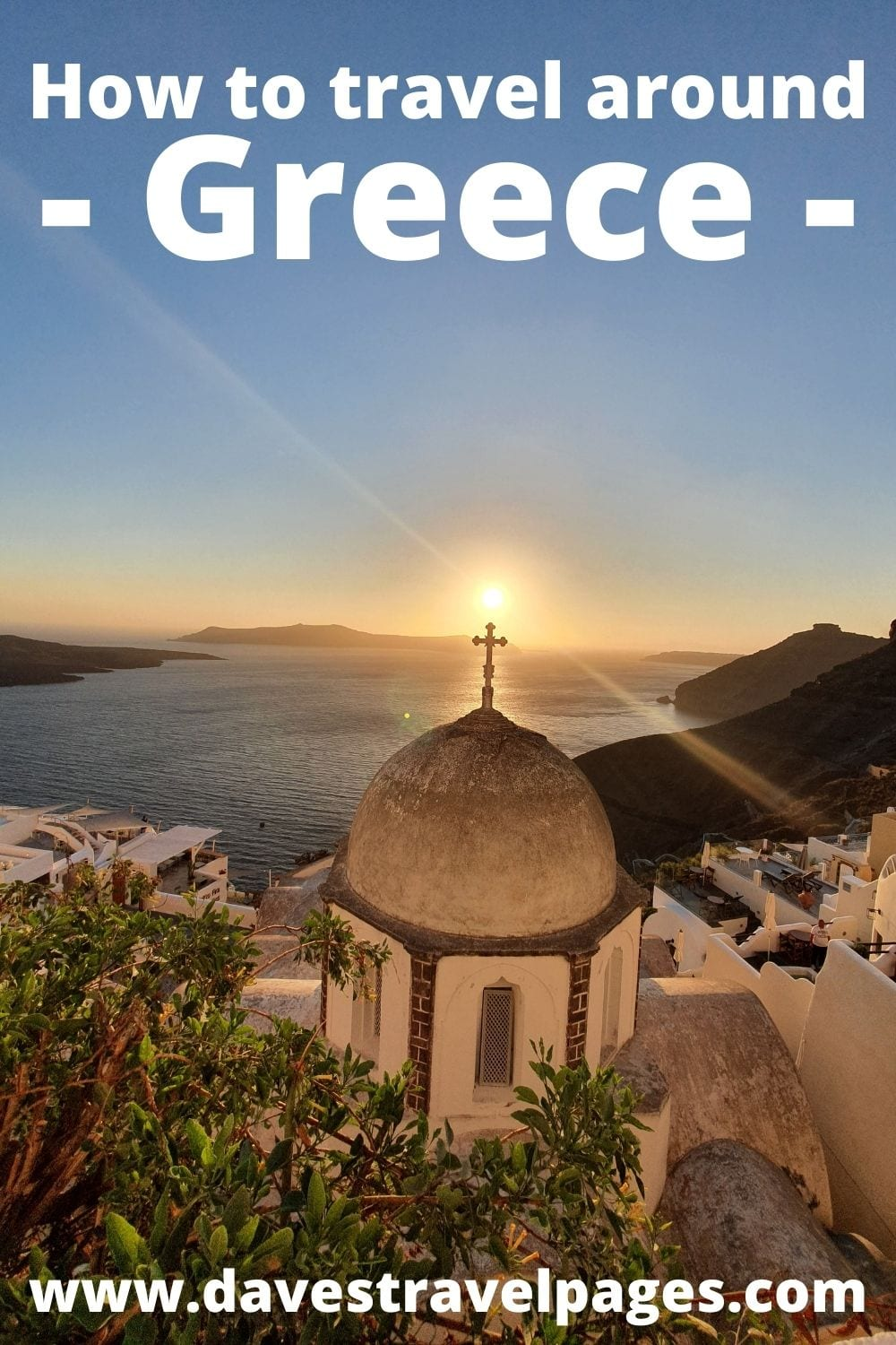 How to travel around Greece