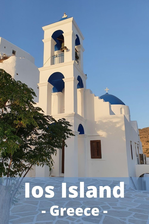 Visiting Ios Island after Milos (Greece)
