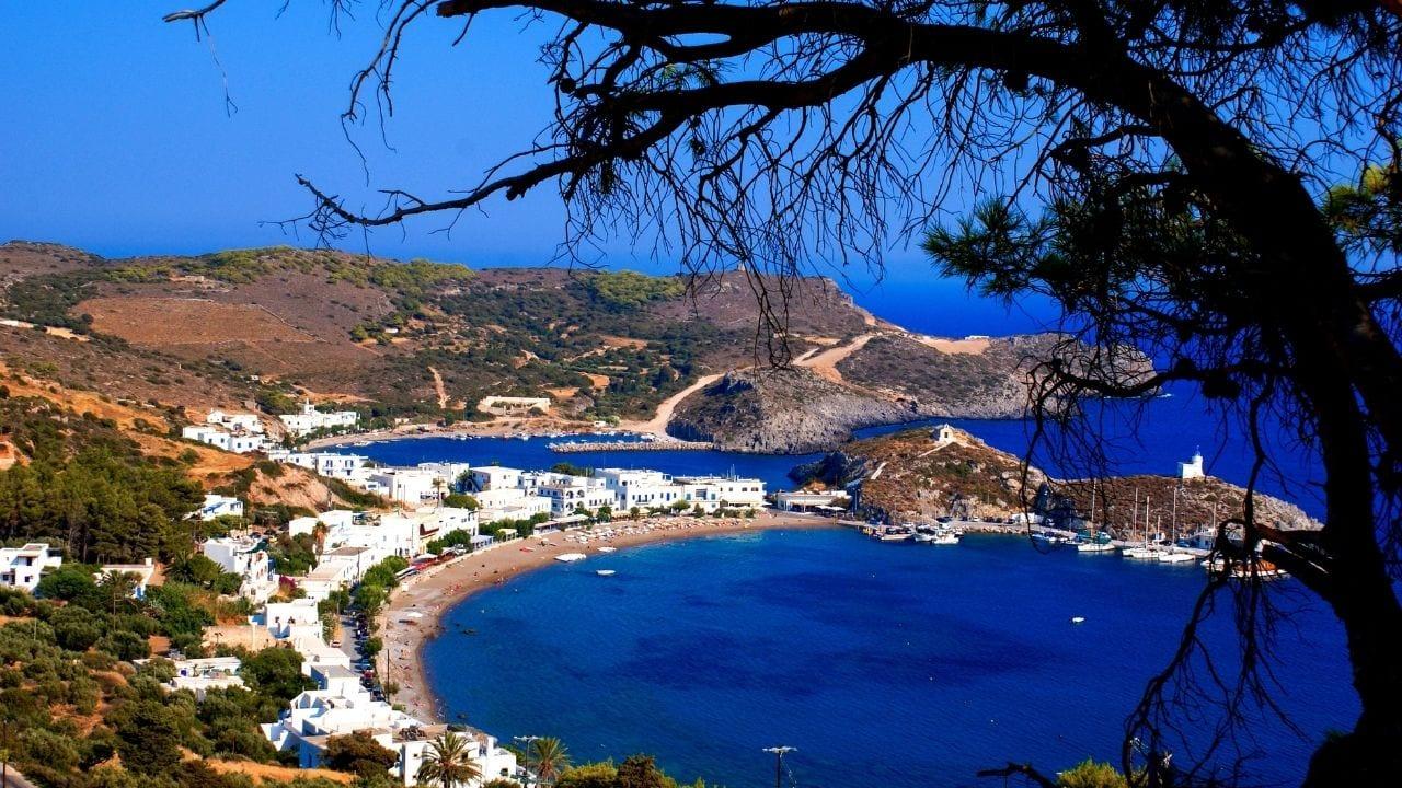 Kithira island in Greece