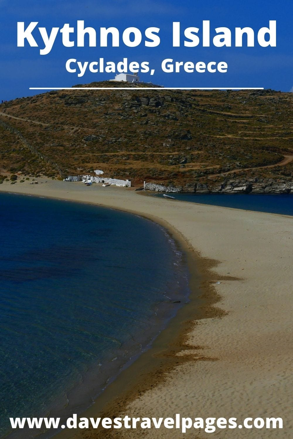 Travel to Kythnos from Syros island in Greece
