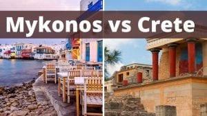 Mykonos or Crete: How to decide between two of the best islands in Greece